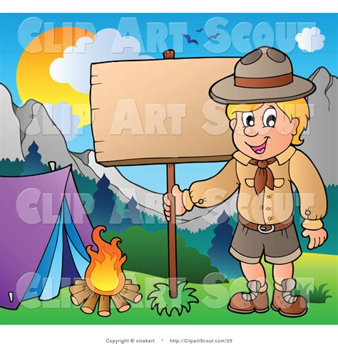 clipart scout royalty free cing stock scout designs