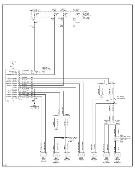 i need a radio wiring diagram for the color codes for a 02 ford e250