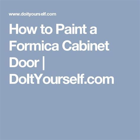 17 Best ideas about Formica Cabinets on Pinterest