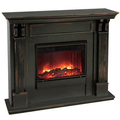 ashley electric fireplace blackwash furniture options