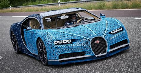 At that weight, it can't be displayed anyplace it may haphazardly roll over top of a. This Life Sized Bugatti Chiron Is Made Of 1 Million Lego Pieces - 9GAG