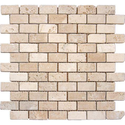 home depot brick tile ms international chiaro brick 12 in x 12 in x 10 mm