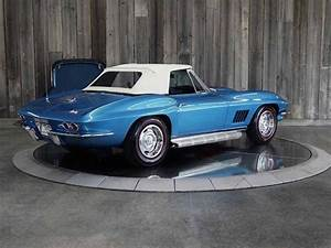 1967 Chevrolet Corvette Marina Blue 8 Cyl 4 Speed Manual