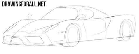 How To Draw A Enzo by How To Draw A Enzo Drawingforall Net