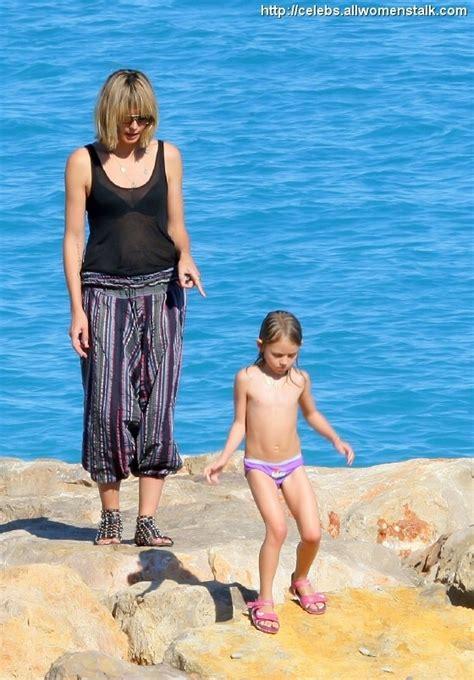 klum vacations   kids celebs