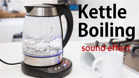 boiling kettle sound effect