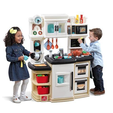 Great Gourmet Kitchen  Tan  Kids Play Kitchen Step2