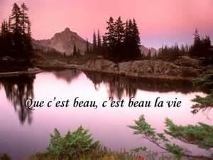 C Est Beau La Vie Jean Ferrat by C Est Beau La Vie Par Jean Ferrat Sur Terredisrael Com