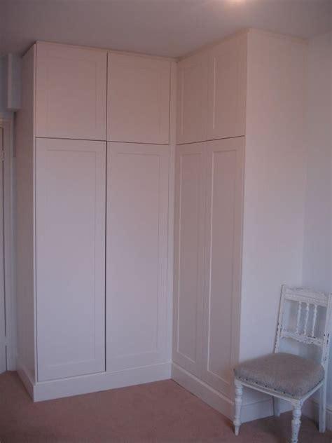 images  built  corner wardrobe  pinterest