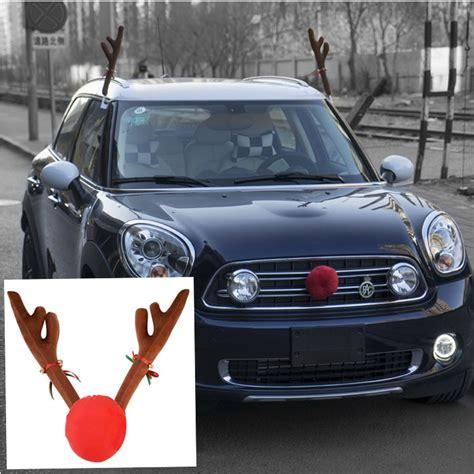 aliexpress com buy christmas reindeer antlers car