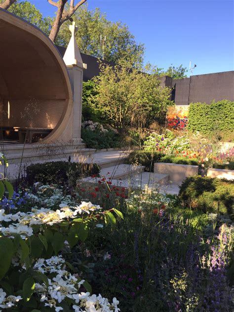 rhs chelsea flower show  gardens   yorkshire