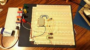 Build A 4-bit Binary Counter With 5x7 Led Matrix
