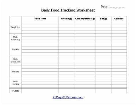 calorie spreadsheet template   unique hcg calorie