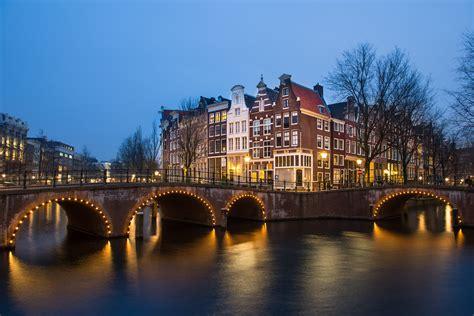 amsterdam  night   amazing views