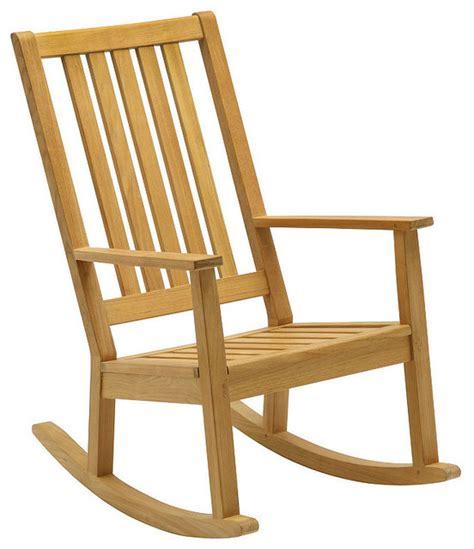 teak porch rocker contemporary outdoor rocking chairs