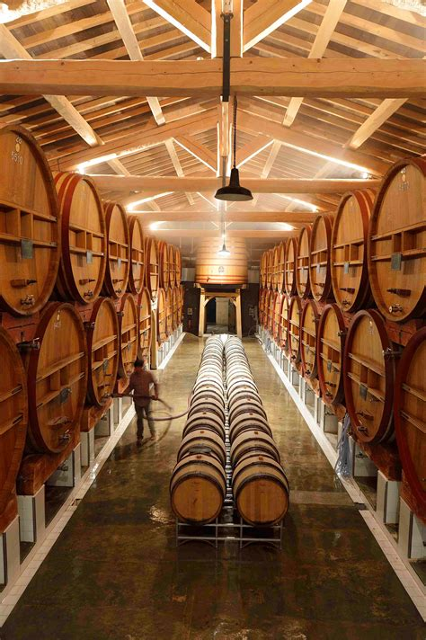 call  entries domaine de beaucastel winery archdaily