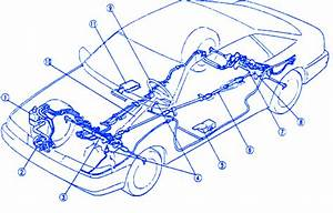 Mazda Mx-6 1991 Electrical Circuit Wiring Diagram