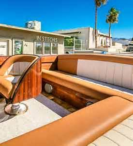 Boat Upholstery Lake Havasu by Boat And Vehicle Upholstery By In Stitches Customs In Lake