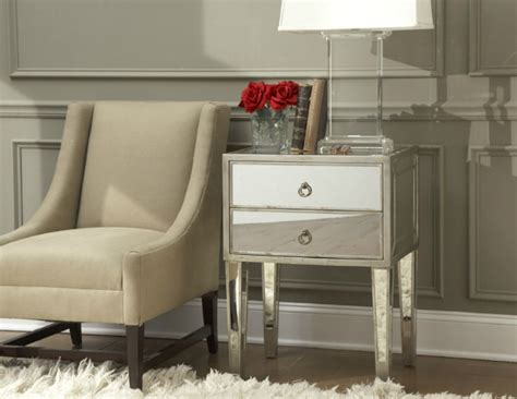 Mirrored Nightstands Cheap by Mirrored Nightstand The Special Touch For Your Master