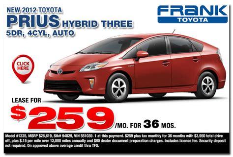toyota dealership deals new toyota car specials toyota discounts deals