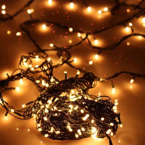christmas tree lights led warm white
