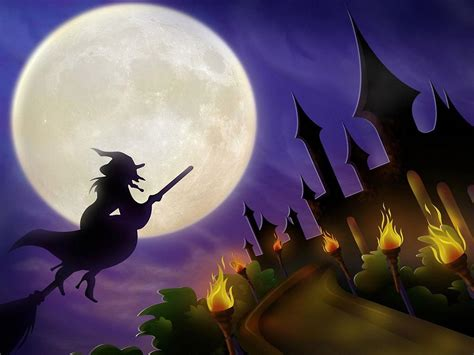free pictures of witches scary halloween 2012 hd wallpapers pumpkins witches spider web bats ghosts collection
