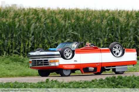 Upside Down Truck Built By Illinois Auto Shop Worker
