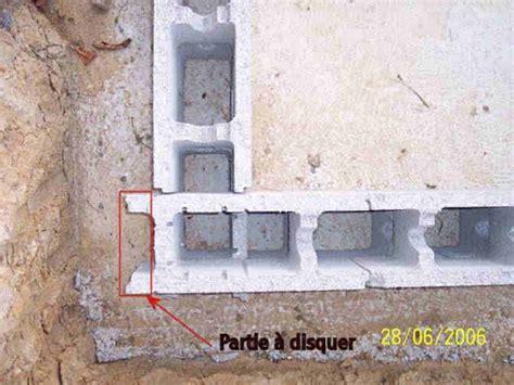 comment monter une chambre de culture comment monter un mur en bloc de beton