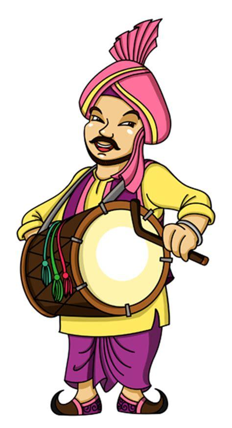 happy singh da dhaba logo mascot design  behance