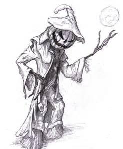 Evil Scarecrow Sketch