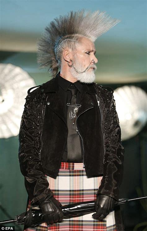 ageing punks  grey mohawks rule  jean paul gaultier
