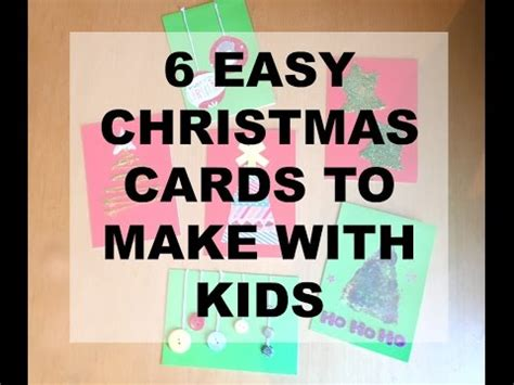 christmas ideas that start with a r 6 easy to make cards even with cards
