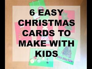 6 easy to make Christmas cards Even with kids HOMEMADE