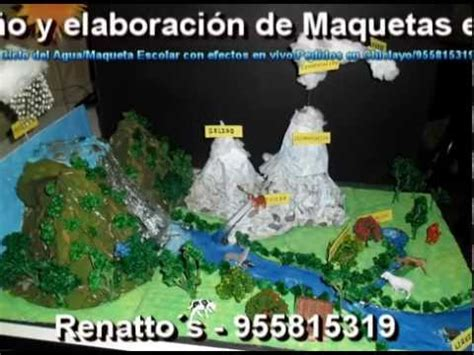 maqueta estados del agua youtube