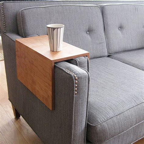 tablette pour accoudoir de canapé canapé idées de