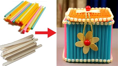 and craft ideas at home how to make jewellery box at home with waste material 7391