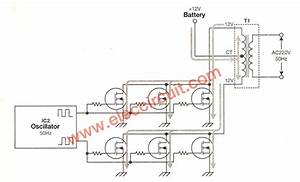 500w Power Inverter Circuit Using Sg3526