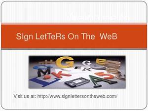 Sign letters for sale online for Sign with letters to slide in