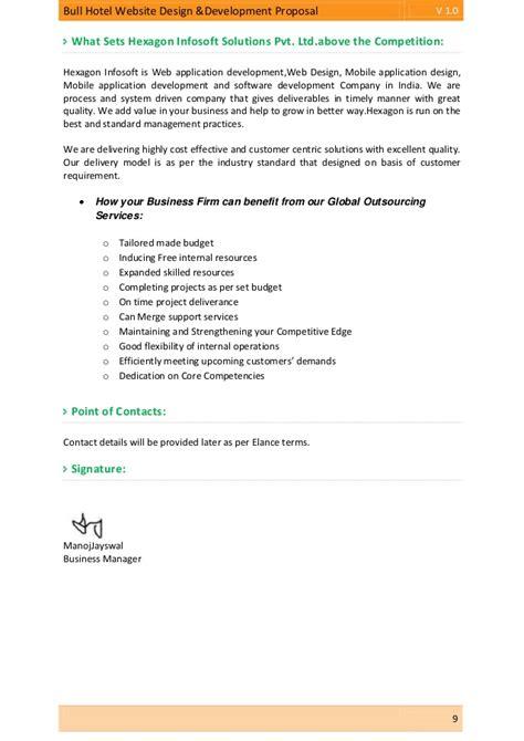Business proposal app