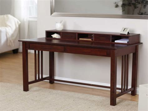 small writing desk home office desk with drawers desk small
