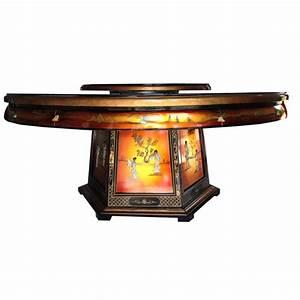 Table de salle à manger avec plateau tournant Meubles