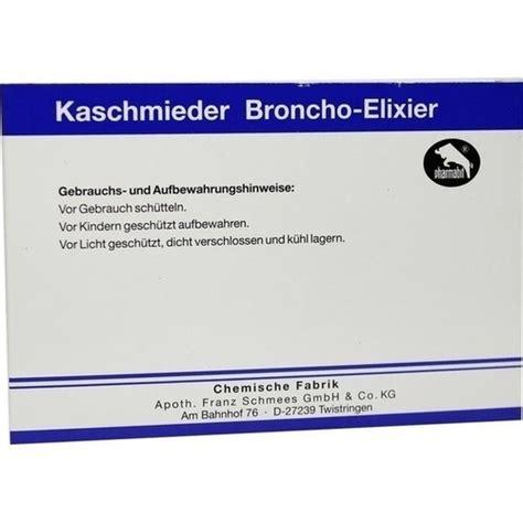 kaschmieder broncho elixier vet guenstig kaufen bio apo