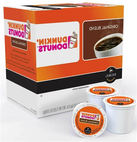Dunkin' donuts menu prices are subject to change without prior notice. Dunkin' Donuts 118791 Blend K-cups - 96 Count