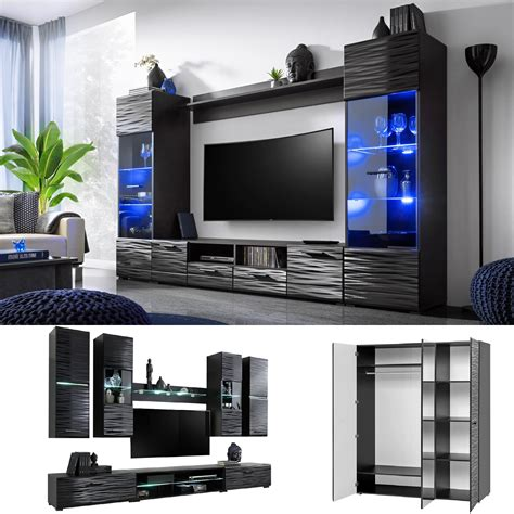 furniture living room tv unit cabinet wall shelf coffee
