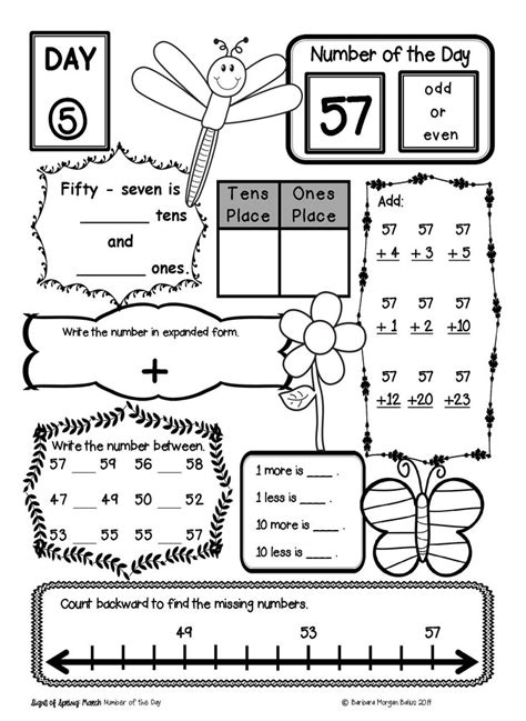 2nd grade math number sense worksheets 1000 ideas about
