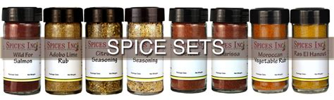 Spice Set 37 spice sets and gourmet spice gifts to choose from