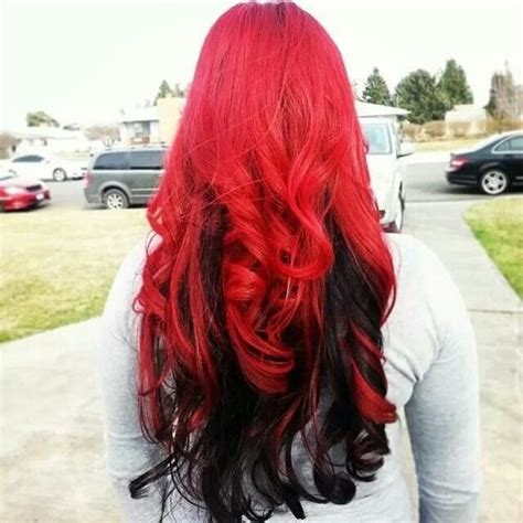 Reveal Your Fiery Nature With These 50 Red Ombre Hair