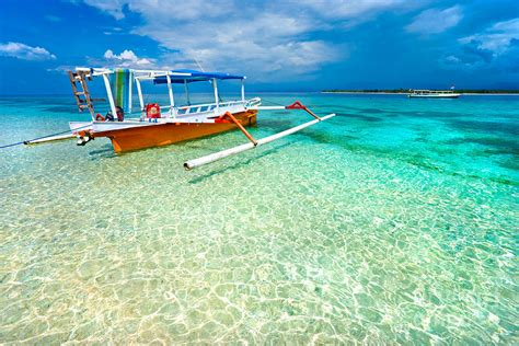 beautiful sea at gili meno indonesia photograph by luciano mortula