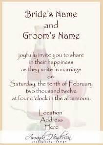 wedding invitation creator how to word wedding invitations theruntime
