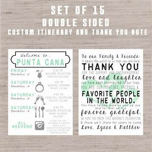 destination wedding welcome bag letters and guest With destination wedding welcome letter and itinerary